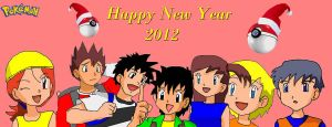 Happy New Year by caractrer-manga