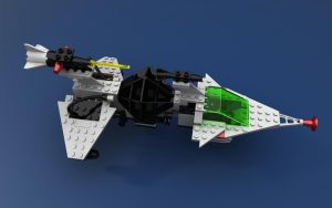 LEGO 6891 Gamma-V top view by zpaolo