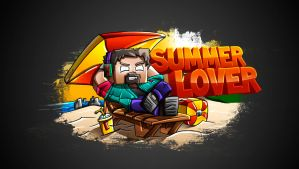Nohacraft Summer Lover - T-shirt by FinsGraphics