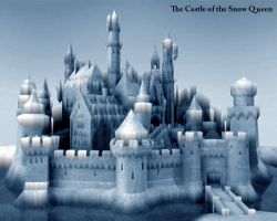 The Castle of snow queen by e-designer