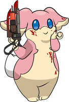 medic audino by HybridProjectAlpha