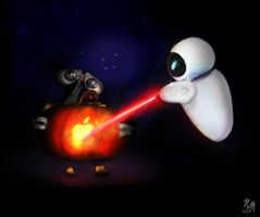 WAll-e-ween by nma-art