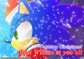 Sonic Christmas by DrakorDragon