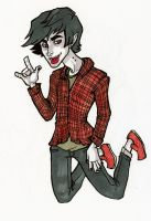 Marshall Lee by damsel-in-distrust