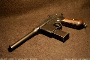 Ger Mauser C96 Custom Prop by JohnsonArms