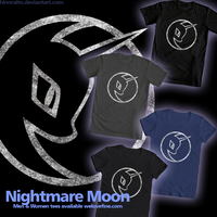 NightmareMoon logo by hinoraito