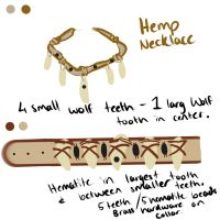 Necklace and Collar idea by TieWolf