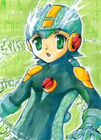 Aceo - Rockman: Saito Style by cross-works
