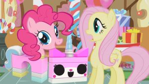 Pinkie Pie is UniKitty by SB1991Unikitty Pinkie Pie