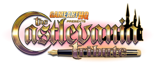 GAHQ Castlevania Tribute Logo by SuperEdco