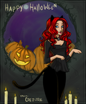 Ember Halloween by Arivina