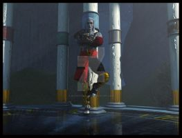 Kain at The Pillars - Final by 3D-Fantasy-Art