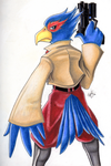 Falco Lombardi by RandomFacelift