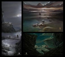 Paintings by psdeluxe