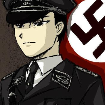 Oekaki - Nazi Roy by cat-cat