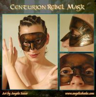 Centurion Warrior Mask by Angelic-Artisan
