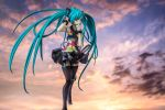 Miku | Enjoy the sunset by Adelram