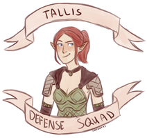 Tallis Defense Squad by MageMina