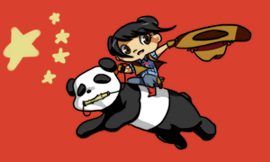 Yeehaw Kai Lan by PhandomMom