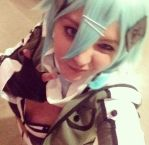 Sinon: Gun Gale Online (Beta Test) by CelestialYoru