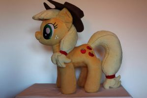Applejack Plush by PlushieScraleos by GmanCommand