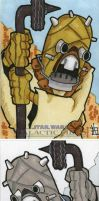 Star wars Galactic Files - Tusken Raider by 10th-letter