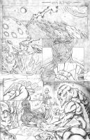 Blackstone Book 1 Page 1 by Robert A. Marzullo by ramstudios1