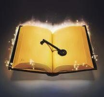 Key and Book by XHI