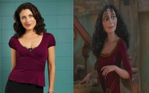 Dra Cuddy:Mother Gothel by Aveku-chan-Kataang