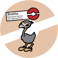 Fake Pokemon: Bratite by Sageroot