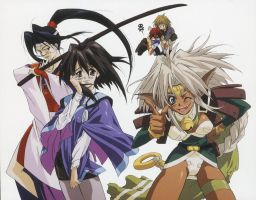 Outlaw Star Crew by Jing-Royale