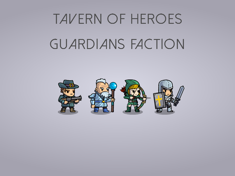 Guardians Faction by KirillKoshurnikov