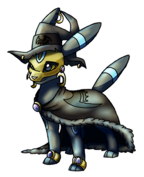 Blacky  The Umbreon Mage by Eternity9