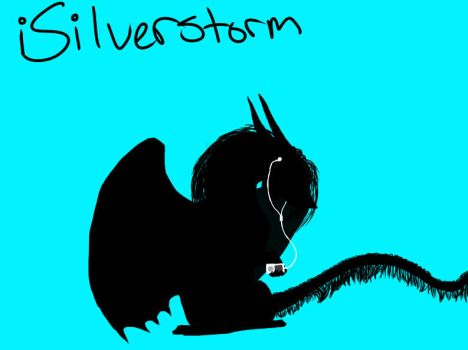 iSilverstorm by alldragonsrawesome