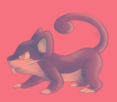 Rattata - Palette Challenge by Rabid-Fangirl212