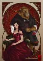 .beauty and the beast. by houoh