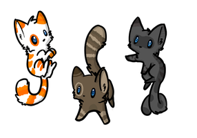 Kitty Batch Adoptables #1 - [5 POINTS] - [OPEN] by Yuli-Adopts