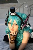 Miku Hatsune Magnet by black---butterfly