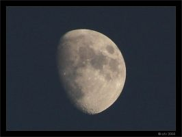 The Moon by afv