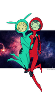 Spacey Suits by PolitosBurritos