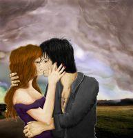 Kiss before the Storm by Azleas