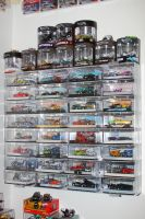 Hot Wheels Wall Display III by OpticaLLightspeed