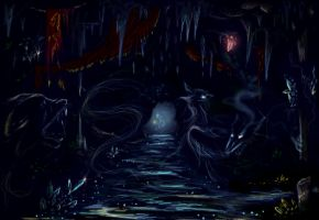 cave of ghosts by markizaki