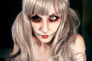 Halloween Makeup Idea by askuniqso