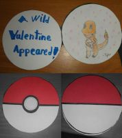 Pokeball Valentines Day Card by thebannanaking