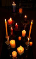 16 Candles by Inadesign-Stock