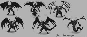 Demon Concepts by TSRodriguez