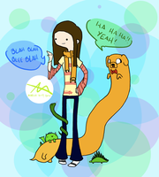 Adventure Time Style by nutmegmeg