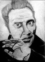 Weekly drawing #1: Christopher Walken by McKravendrawings