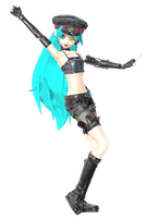(TRADE)-lie- XD DOWNLOAD PDA Hatsuune Miku Punk by johnjan11